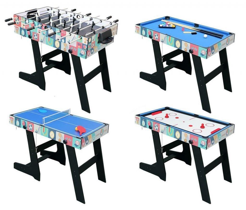 table multi jeux pliable