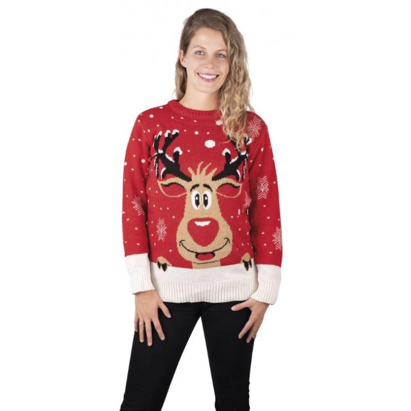 pull de Noël femme chic